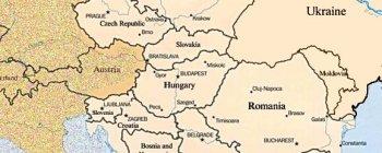 Karte von Osteuropa