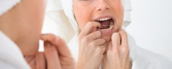 keep teeth clean