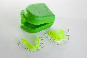 Aufbewahrung lose Zahnspange