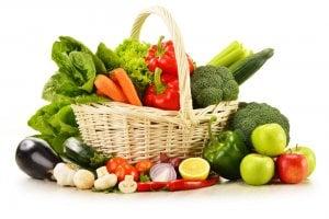 Der menschliche Körper benötigt zum Aufbau der Darmflora Gemüse