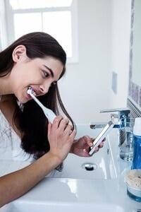Elektrische Zahnbürste mit App