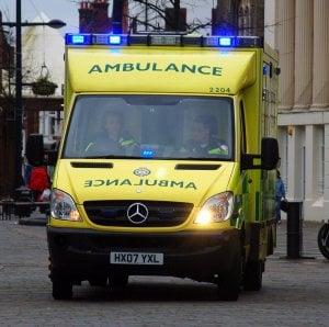 british ambulance