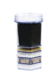 charbon de bois dans les filtres