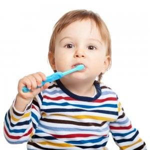 choosing toothbrush for kids