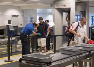 taking a toothbrush through airport security