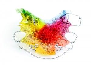 rainbow teeth retainer picture