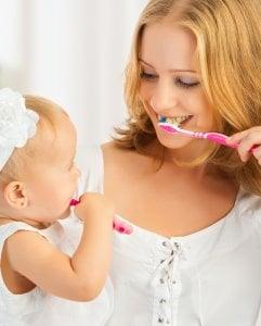 baby milk teeth care
