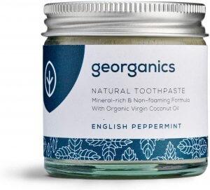 georganics whitening paste