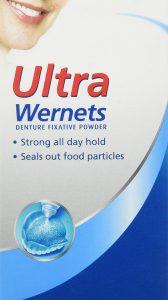 super wernets denture adhesive powder