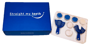 impression kit for straightening teeth at home