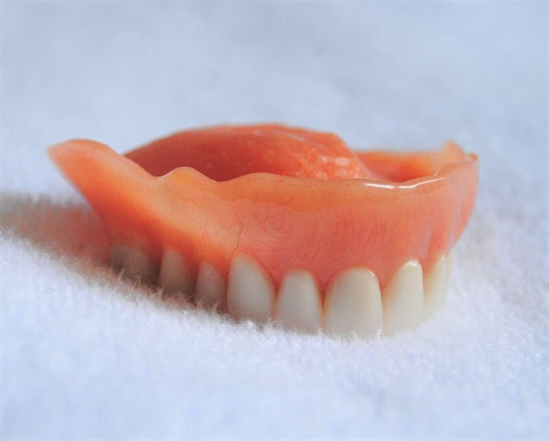 Foto de dentadura mucosportada