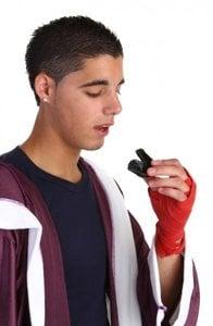 protectores bucales para evitar daño en los dientes