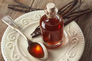 usos del extracto de vainilla para las encías inflamadas