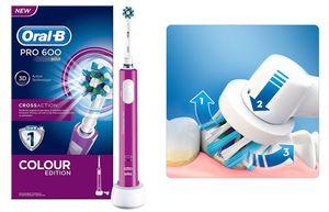 fotografía del cepillo oral b pro 600