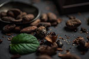 pasta de sientes natural con semillas de cacao