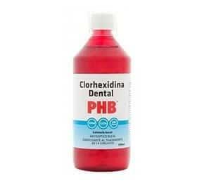 imagen de colutorio con clorhexidina al 0.12%