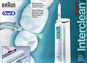 Cepillo interdental eléctrico Oral B