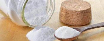 Pasta a base de bicarbonato de sodio