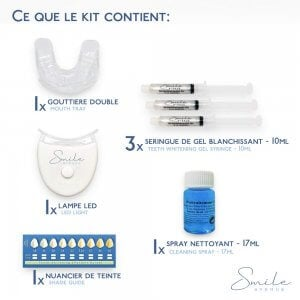 Kit Smile Avenue - Blanqueamiento dental