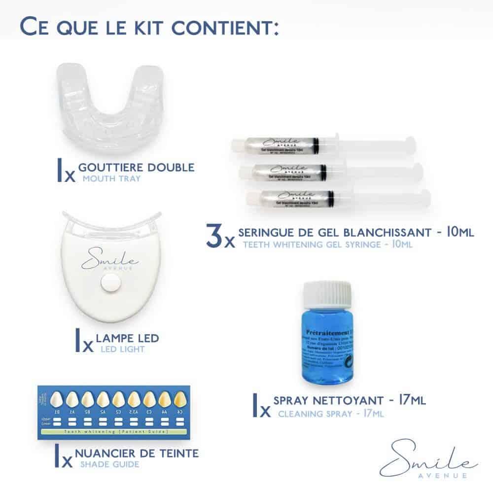 Kit Smile Avenue - Blanqueamiento dental
