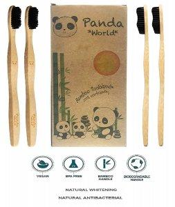 Cepillo Dientes Bambu Carbon Activado