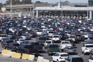 crossing Mexico border