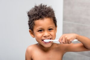 Dental care for babies and children