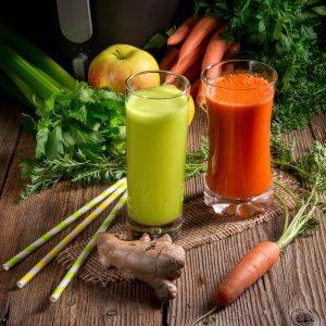 vegetable juice tooth friendly