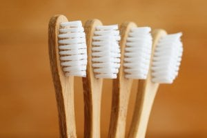 bamboo wooden toothbrushes