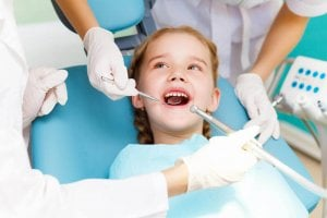 Tooth sealants for children