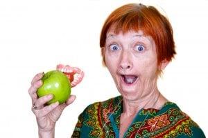 Avoiding certain foods is important for proper denture care