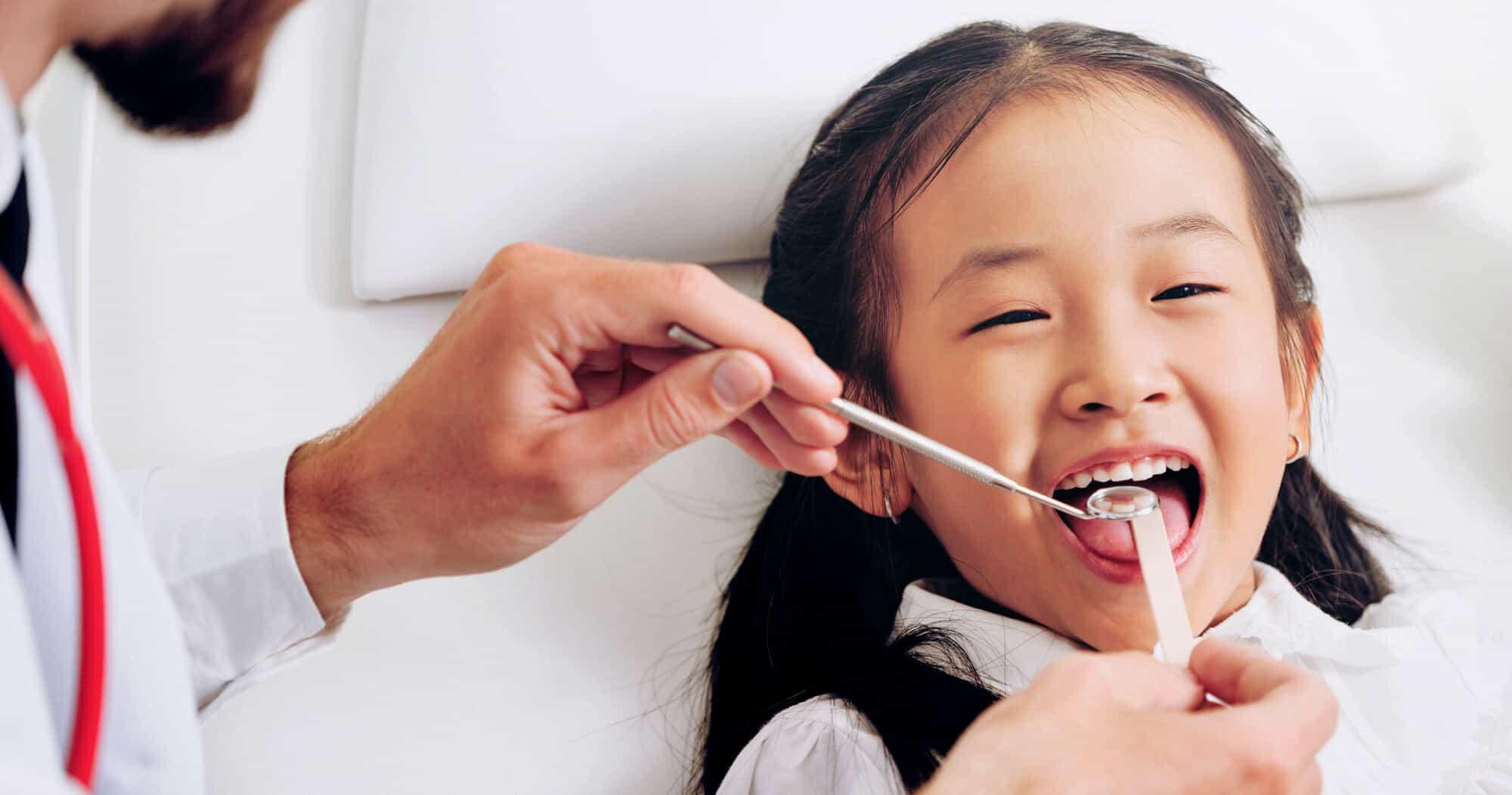 Children's oral health
