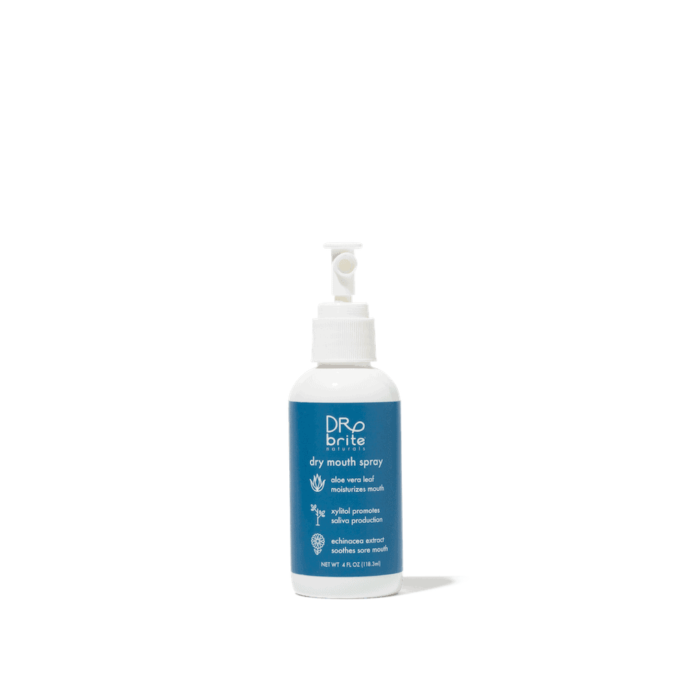natural dry mouth spray