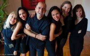 Le Dr Zarrinpour et son équipe