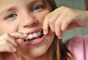 Fil dentaire enfant