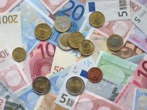 euro billets et pièces