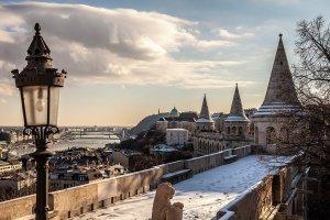 hiver budapest