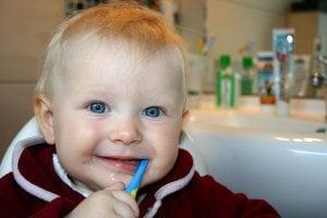 brossage des dents chez l'enfant