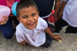 enfant qui sourie
