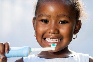 Brosse à dents électrique pour enfants