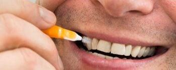 brossettes interdentaires pour l'arthrite dentaire