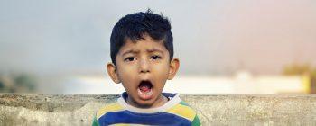 tâches dents enfants