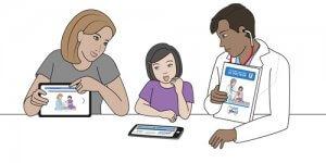 Expliquer au patients grâce aux fiches SantéBD