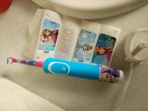 autocollants de la brosse à dents Oral-B kids