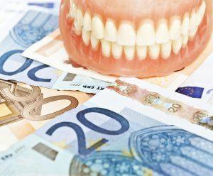 prix d'un appareil dentaire